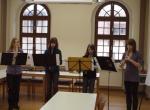 Franziska Bischoff, Luise Neupert, Nicole Steckbauer und Selina Weber
