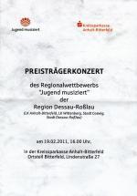 Preisträgerkonzert 19.02.2011