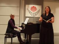 Theresia Taube (Klavierbegleitung Irina Wachtel - Lehrkraft Kreismusikschule Wittenberg)